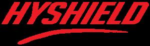 hyshield text logo